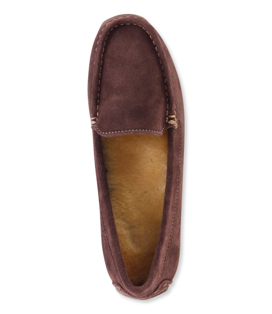 Oceanside Slippers, Shearling Moccasins
