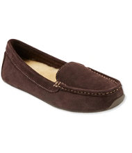 Women's Oceanside Slippers, Shearling Moccasins