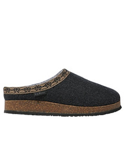 Women's L.L.Bean Wool Slipper Clog