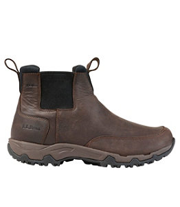 Men's Newington Slip-On Boots, Waterproof Insulated