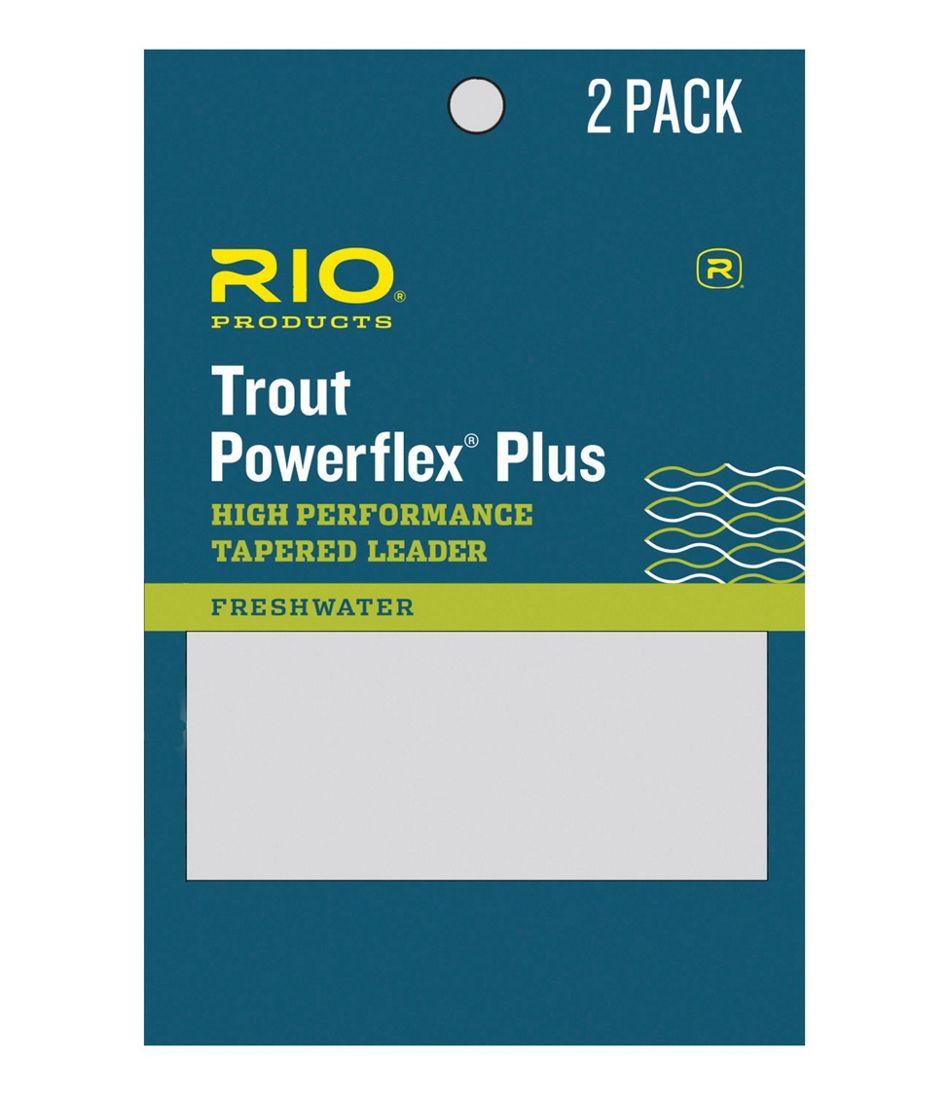 Rio Powerflex Plus 9' Tapered Leaders, 2-Pack