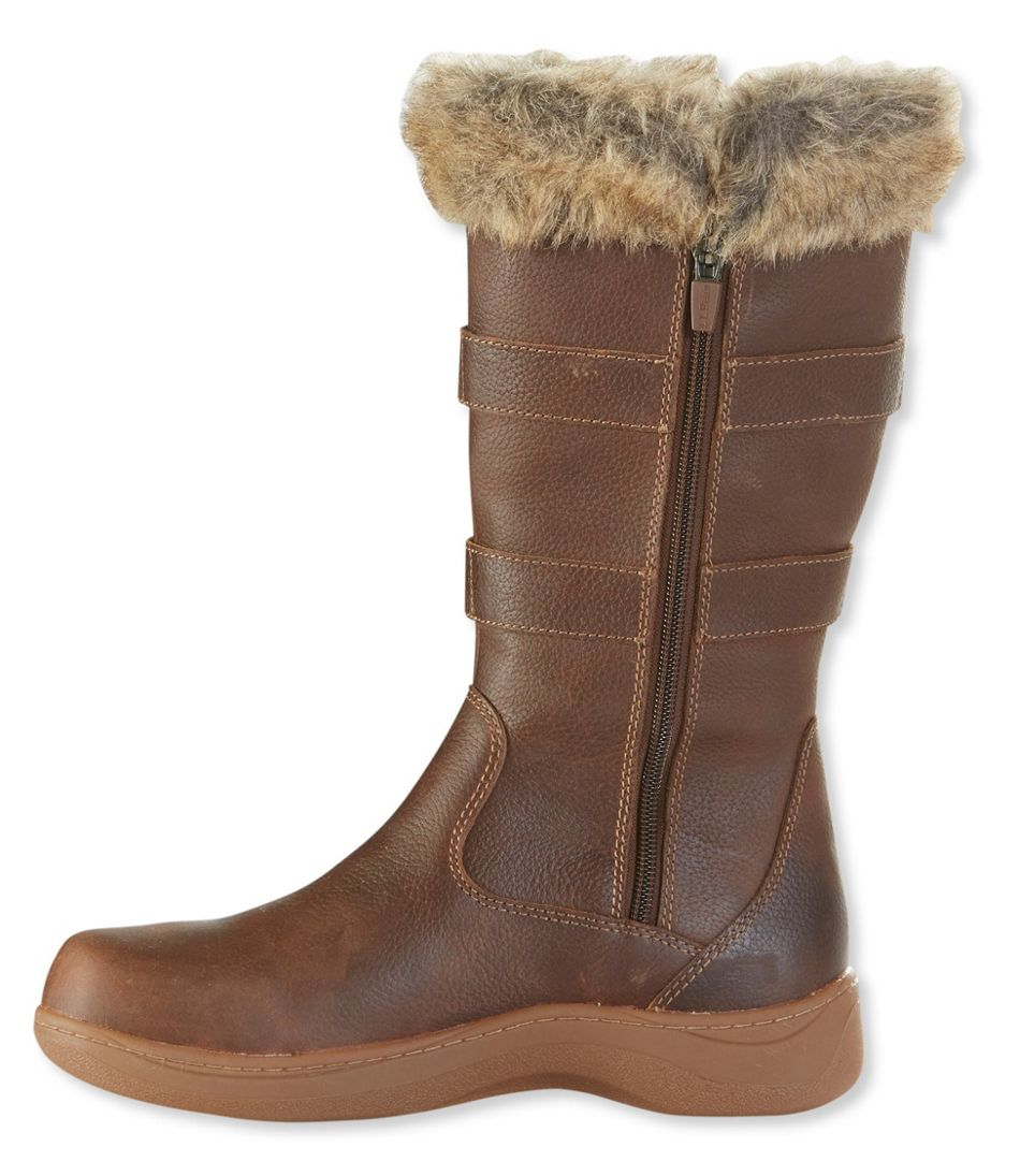 Insulated Nordic Casual Leather Boots, Waterproof