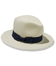 Signature Woven Toyo Continental Fedora by Hat Attack
