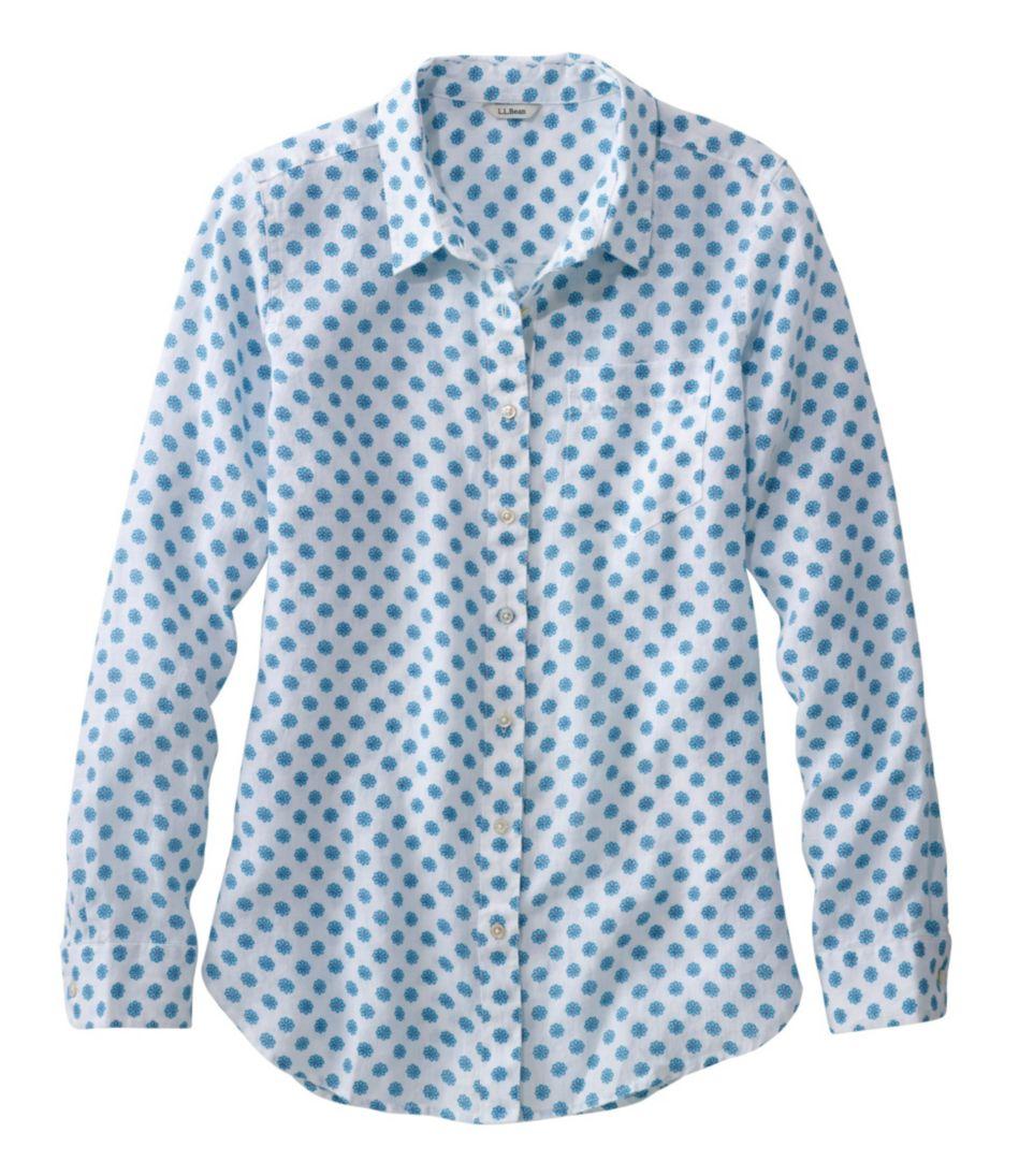 Premium Washable Linen Shirt, Tunic Print