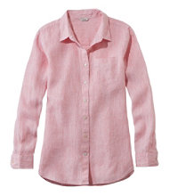 Premium Washable Linen Shirt, Tunic Microstripe