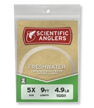 Scientific Anglers Premium Freshwater Leaders, 2-Pack