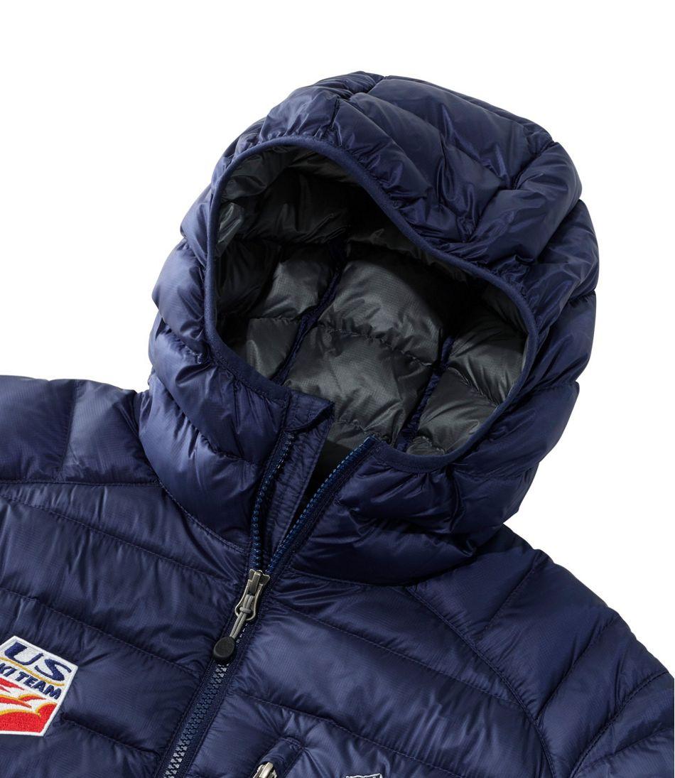 Ultralight 850 Down Hooded Jacket U.S. Ski Team