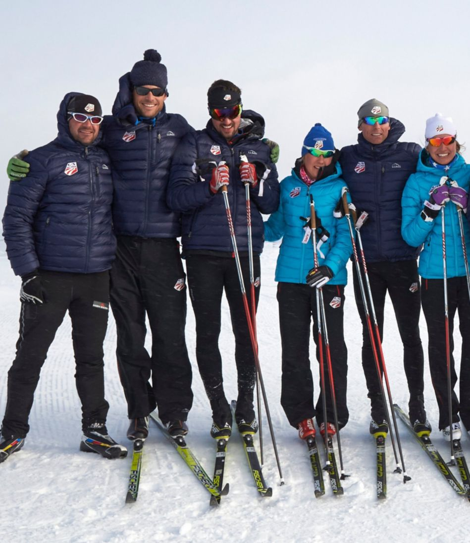 Ultralight 850 Down Hooded Jacket U.S Ski Team