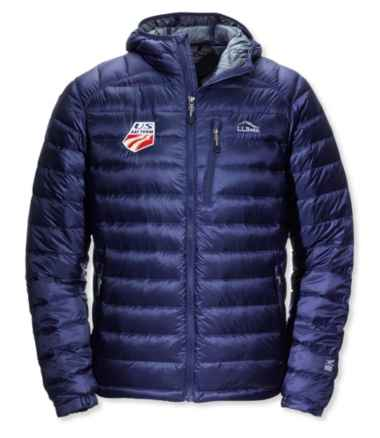 Men's Ultralight 850 Down Hooded Jacket U.S. Ski Team