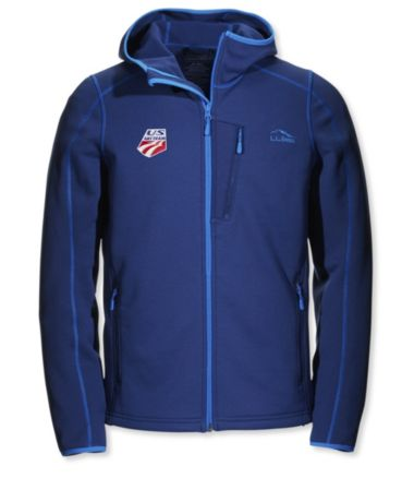 L.L.Bean ProStretch Fleece Jacket, Hooded U.S. Ski Team