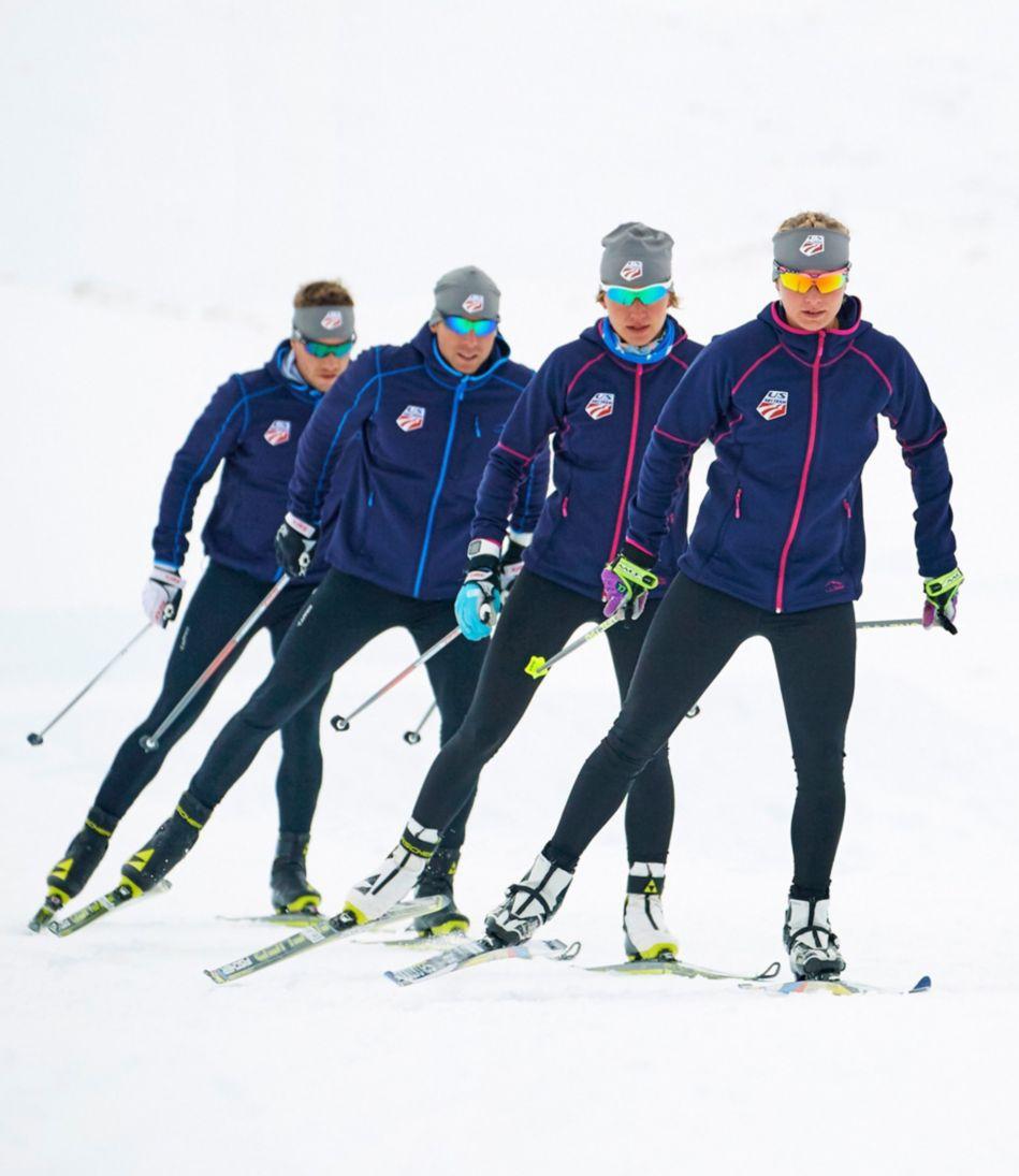 L.L.Bean ProStretch Fleece Hooded Jacket, U.S. Ski Team