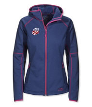 L.L.Bean ProStretch Fleece Hooded Jacket, U.S. Ski Team
