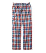 Madras Pajama Pants, Plaid
