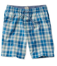 Madras Pajama Shorts, Plaid