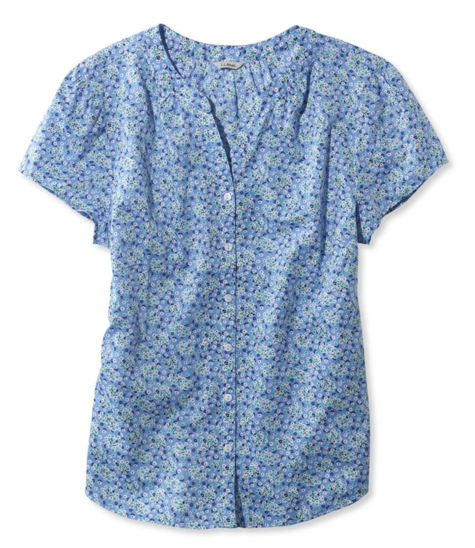 Peaks Island Shirt, Floral