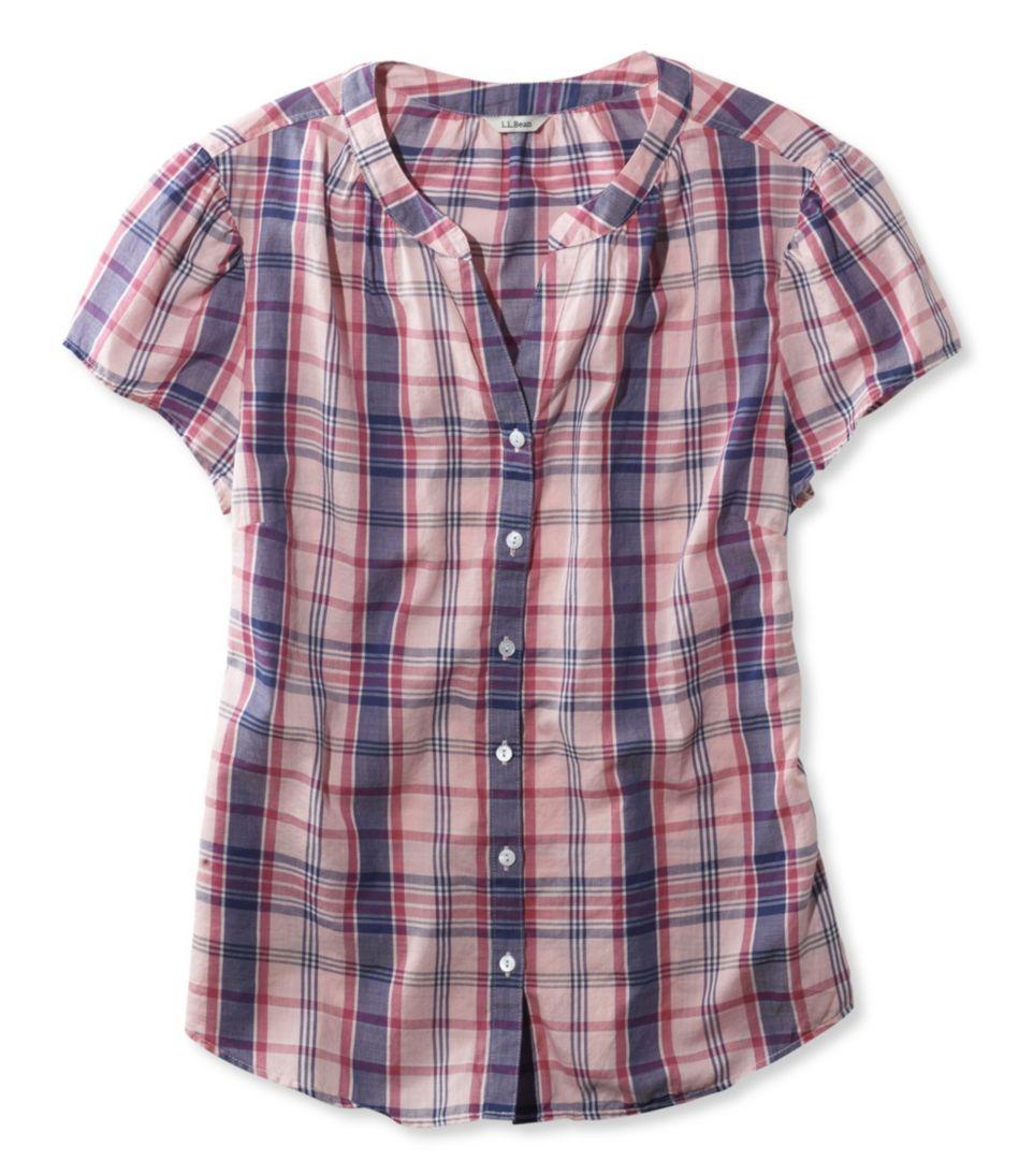 Peaks Island Shirt, Plaid