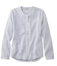 Cotton Crinkle Shirt, Stripe