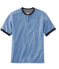 Casco Bay Henley, Short-Sleeve
