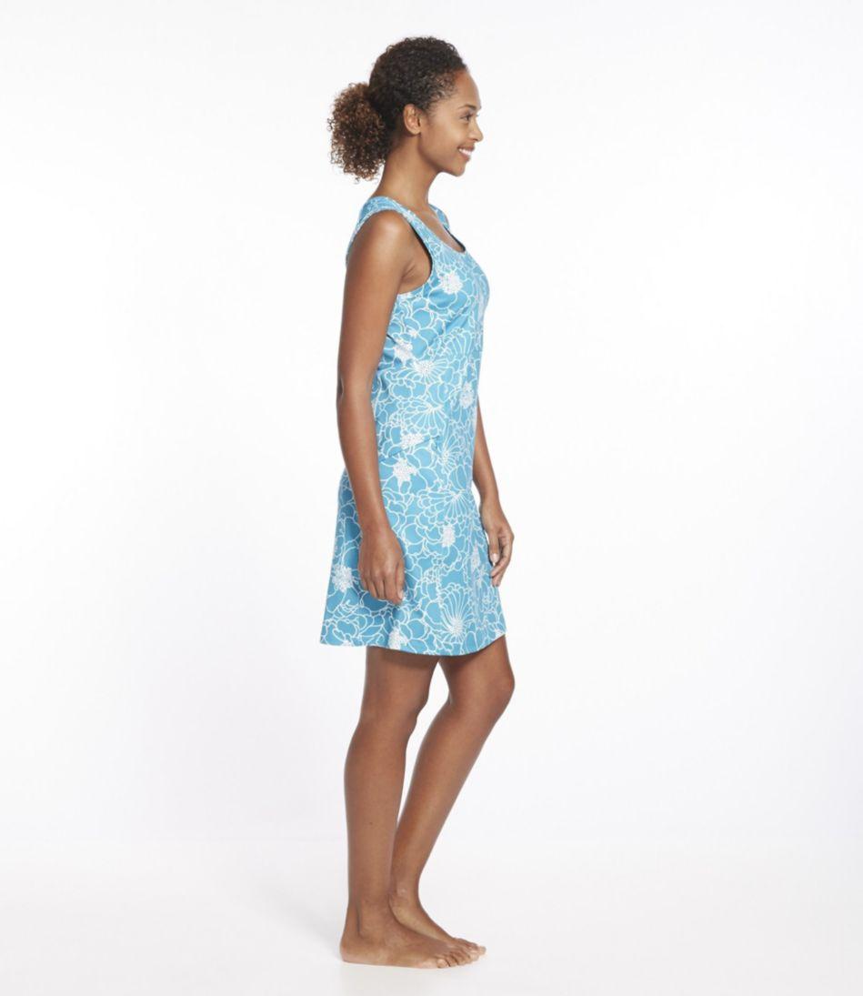 Sleeveless Fitness Dress, Bloom Print