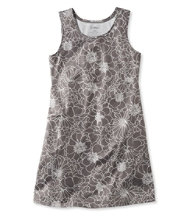 Sleeveless Fitness Dress, Bloom Print