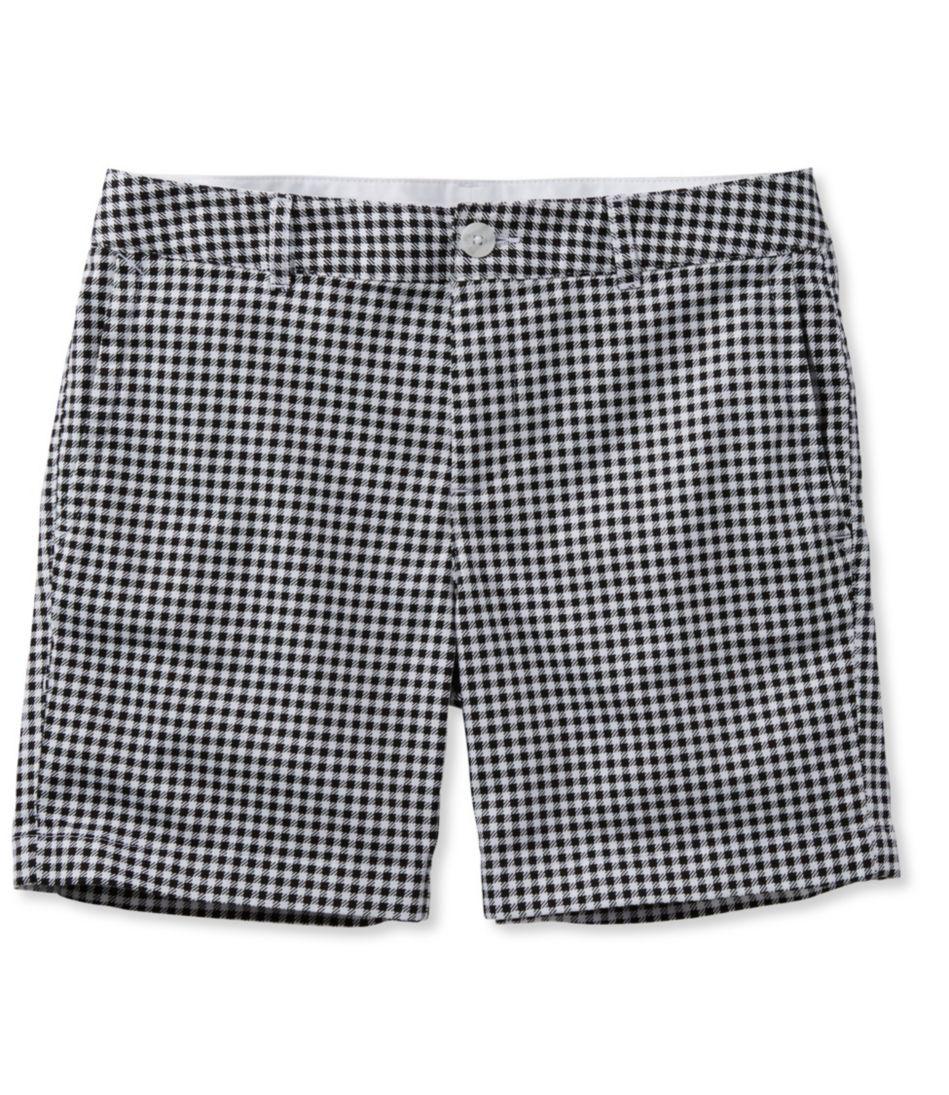 """Washed Chino Shorts, 6"""" Print"""
