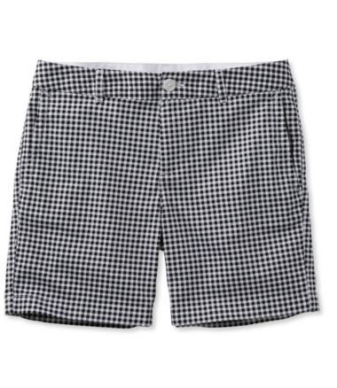 "Washed Chino Shorts, 6"" Print"