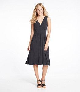 Women's Summer Knit Dress, Sleeveless