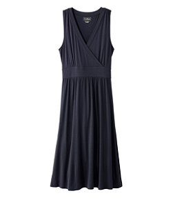Women's Summer Knit Dress, Sleeveless