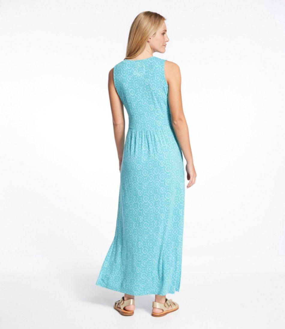 Summer Knit Maxi Dress, Print