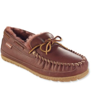 Women's Wicked Good® Leather Camp Moccasins