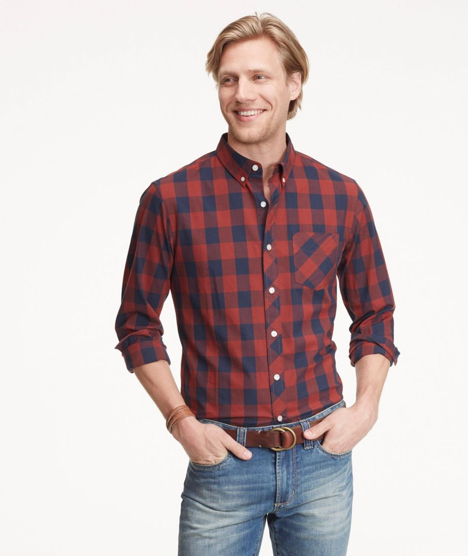 Signature Hunter's Plaid Two-Color Shirt