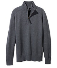 Signature Italian Merino Sweater, Quarter-Zip