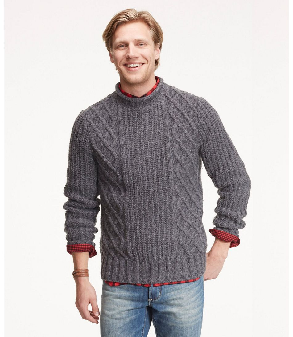 91c70d832 Signature Wool-Blend Fisherman Sweater