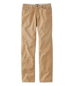 Men's Signature Washed Corduroy Pants, Slim Straight
