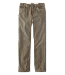 Signature Washed Corduroy Pants, Slim Straight