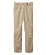 Signature Khakis, Lined Slim Straight