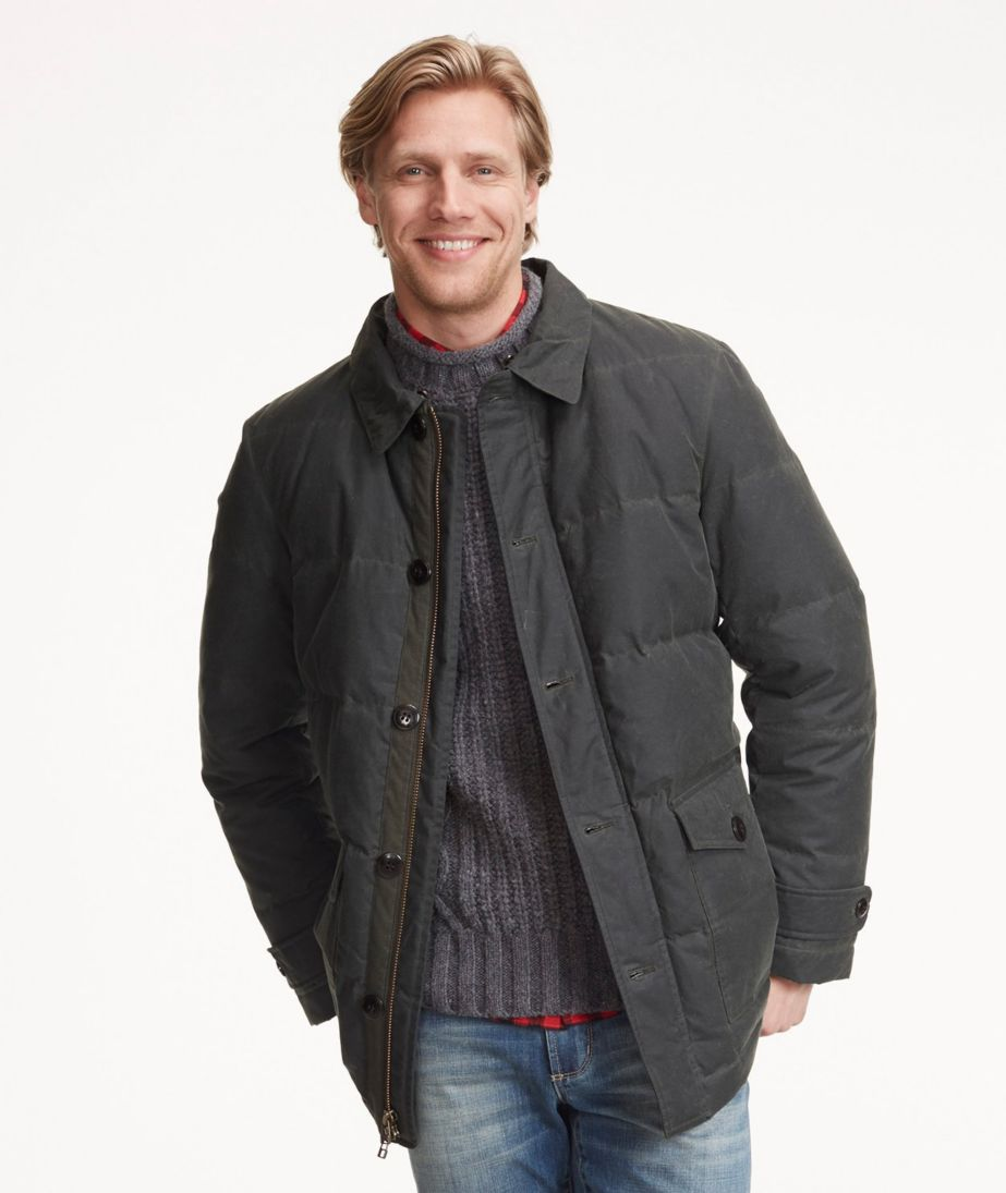 Signature Quilted Waxed-Canvas Coat