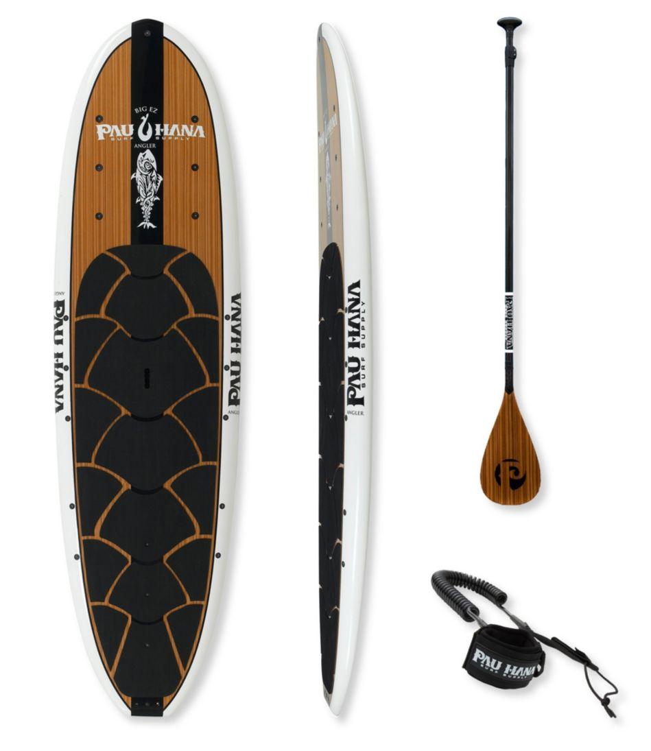 Pau Hana Big EZ Angler Stand Up Paddle Board Package, 11'
