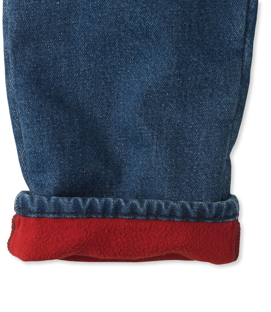 Double L® Jeans, Relaxed Fleece-Lined