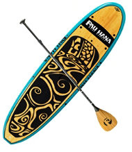 Pau Hana Oahu Stand-Up Paddleboard Package, 10'