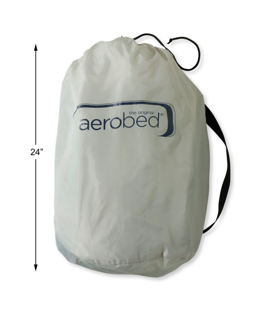 """Aerobed 12"""" Queen Air Mattress with Rechargeable Pump"""