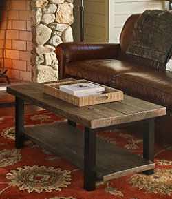 Rough Pine Coffee Table