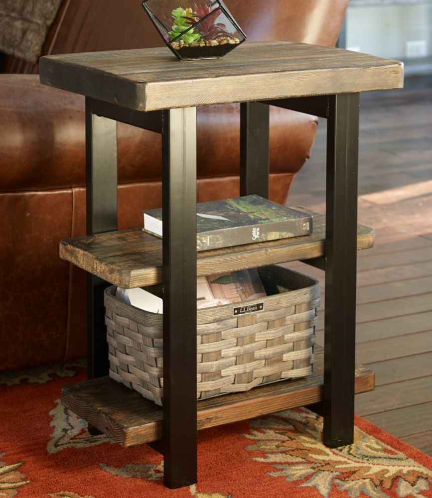 Awesome Rough Pine End Table | Free Shipping At L.L.Bean.