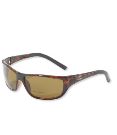 L.L.Bean Deluxe Polarized Performance Bifocal Sunglasses, Medium