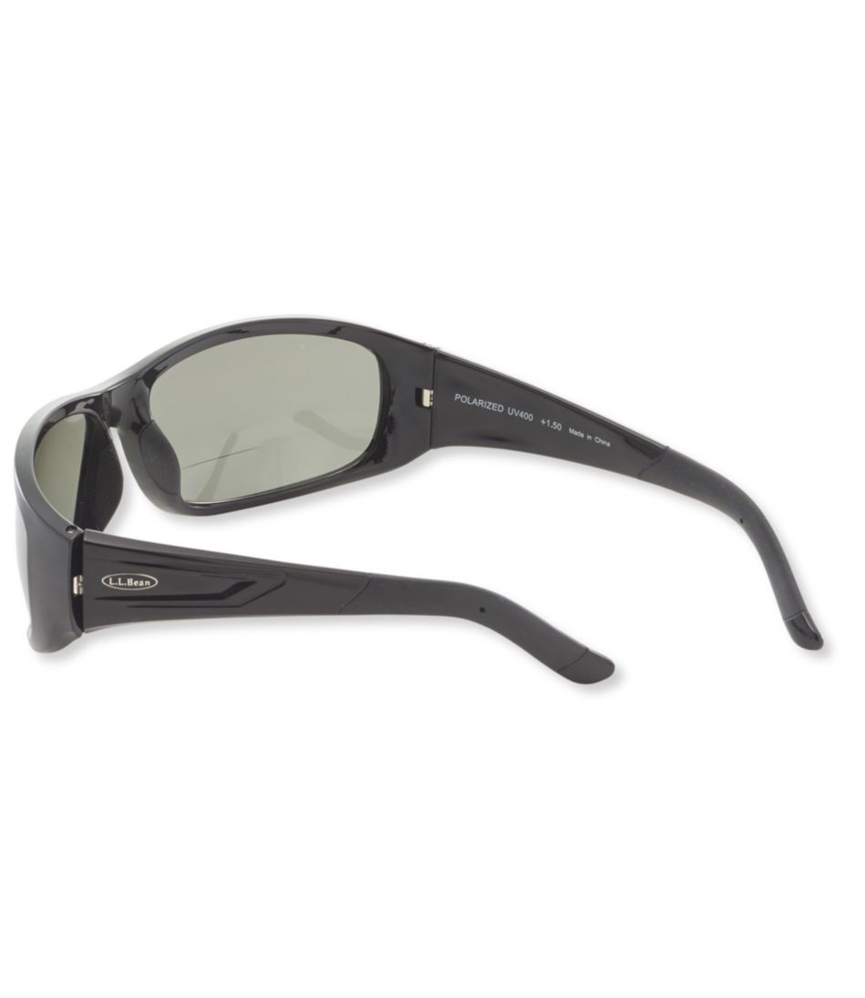 L.L.Bean Deluxe Polarized Performance Bifocal Sunglasses, XL
