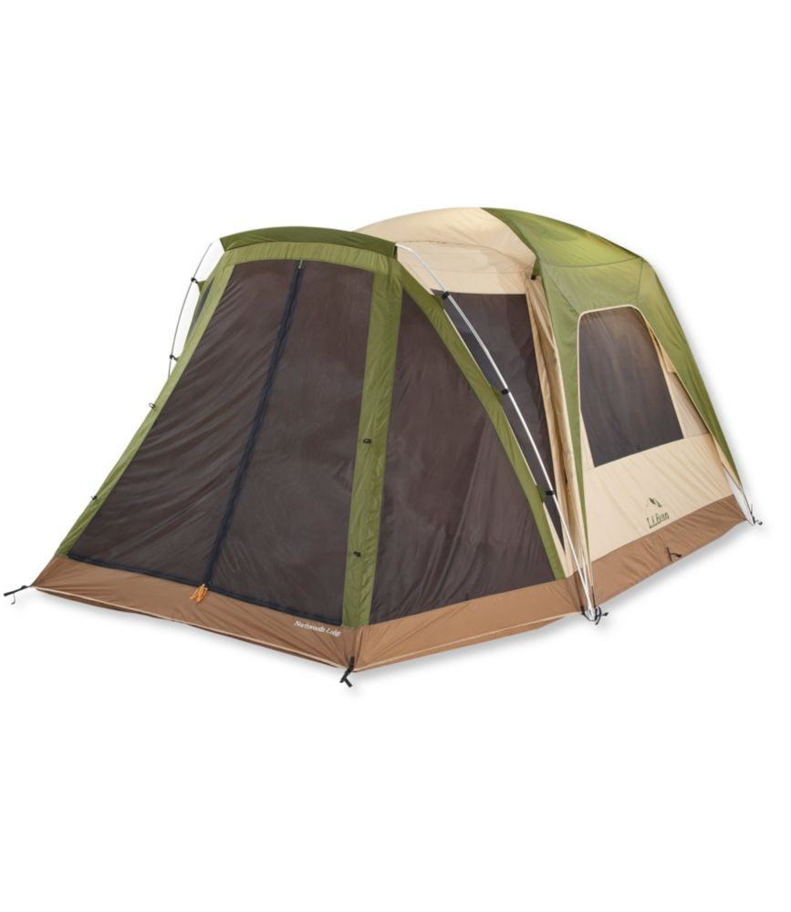 photo: L.L.Bean Northwoods 6-Person Cabin Tent three-season tent