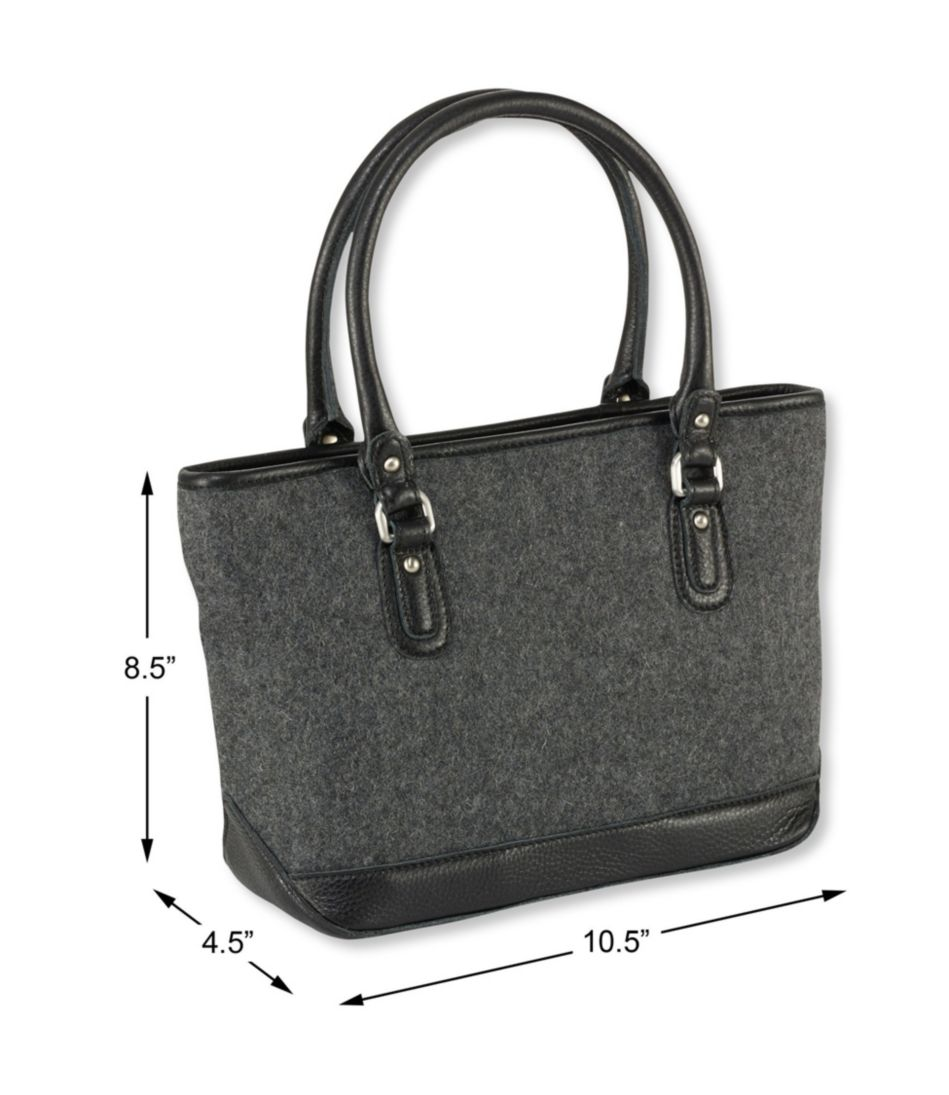 Exchange Street Wool Tote, Small
