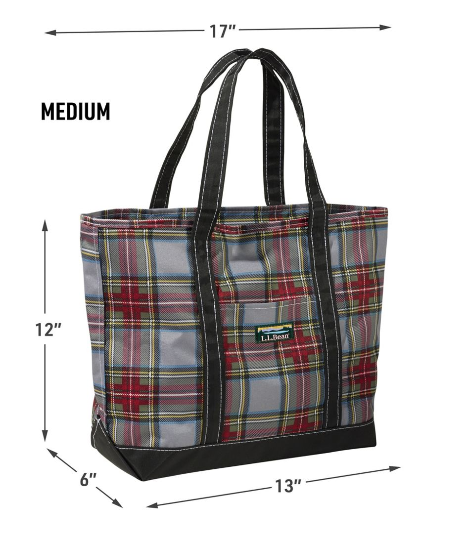 Everyday Lightweight Tote Plaid
