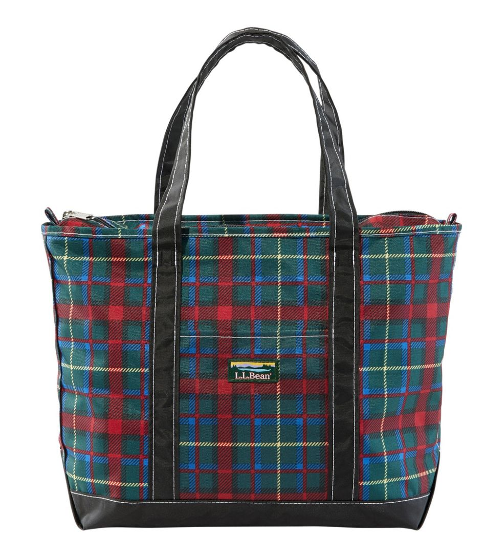 Everyday Lightweight Tote, Plaid