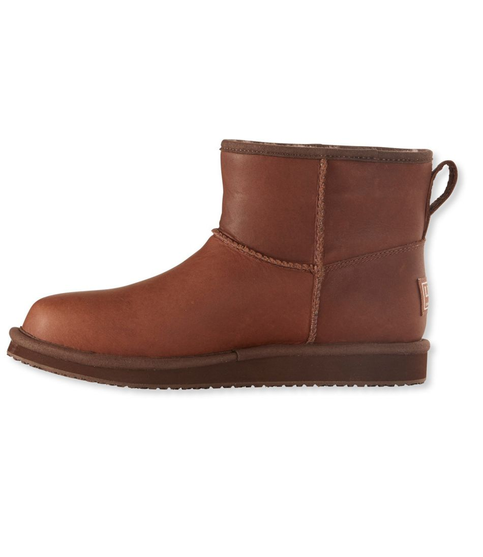 Wicked Good Shearling Boots, Low